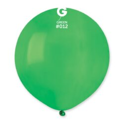 012 Green  19in 25 Solid Color