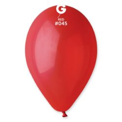 045 Red  12in 50 Solid Color