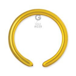 039 Gold  2in 50 Metalic Color