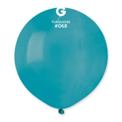 068 Turquoise 19in 25 Solid Color