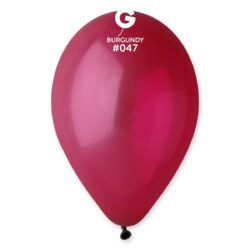 047 Burgundy  12in 50 Solid Color
