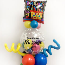 Primary Tones Balloon Bouquet Tall