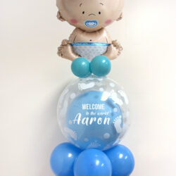 Welcome to the World Baby  Balloon Bouquet
