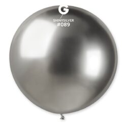 089 Shiny  Silver 31in 1 Solid Color