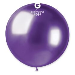 097 Shiny  Purple 31in 1 Solid Color